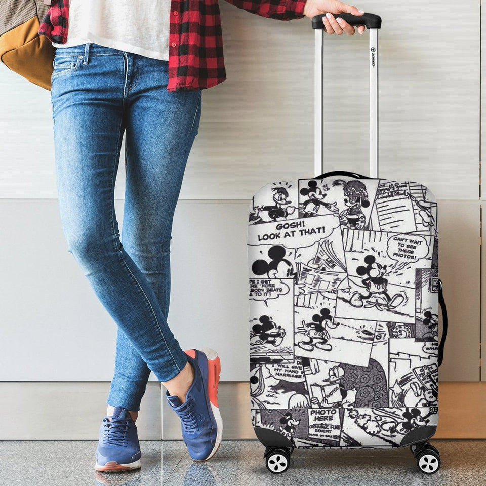 MICKEY COMIC LUGGAGE COVER