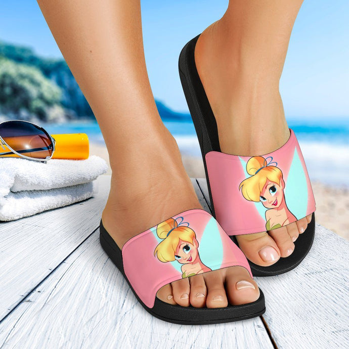 PINK TINKERBELL SANDALS