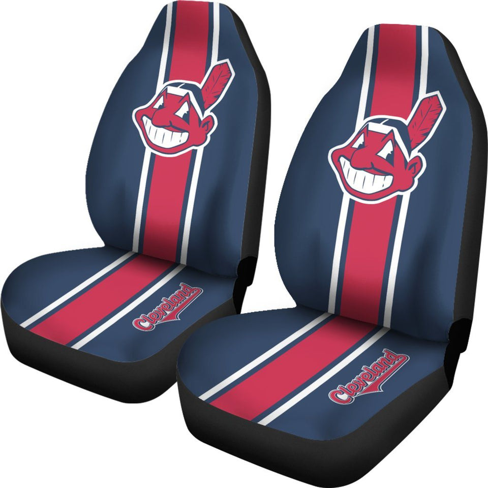New MLB Chicago Cubs Car Truck Suv 2 Front Seat Covers Set