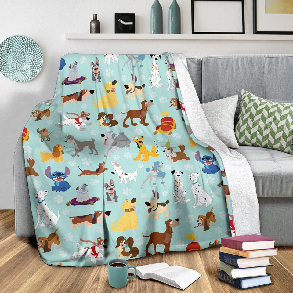 DISNEY DOGS PREMIUM BLANKET