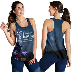 KEEP ON BELIEVING WOMEN'S TANK
