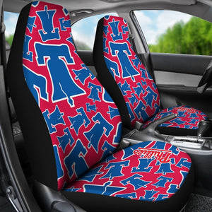 PHILADELPHIA PHILLIES BELL CAR SEAT COVER (SET OF 2)