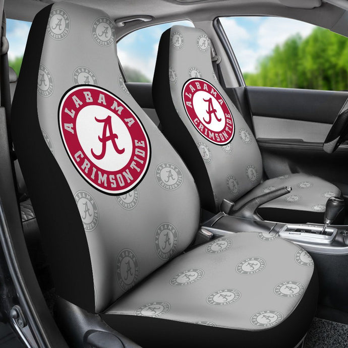 CRIMSON TIDE CAR SEAT COVERS (SET OF 2)