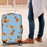 POOH HONEY LUGGAGE COVER
