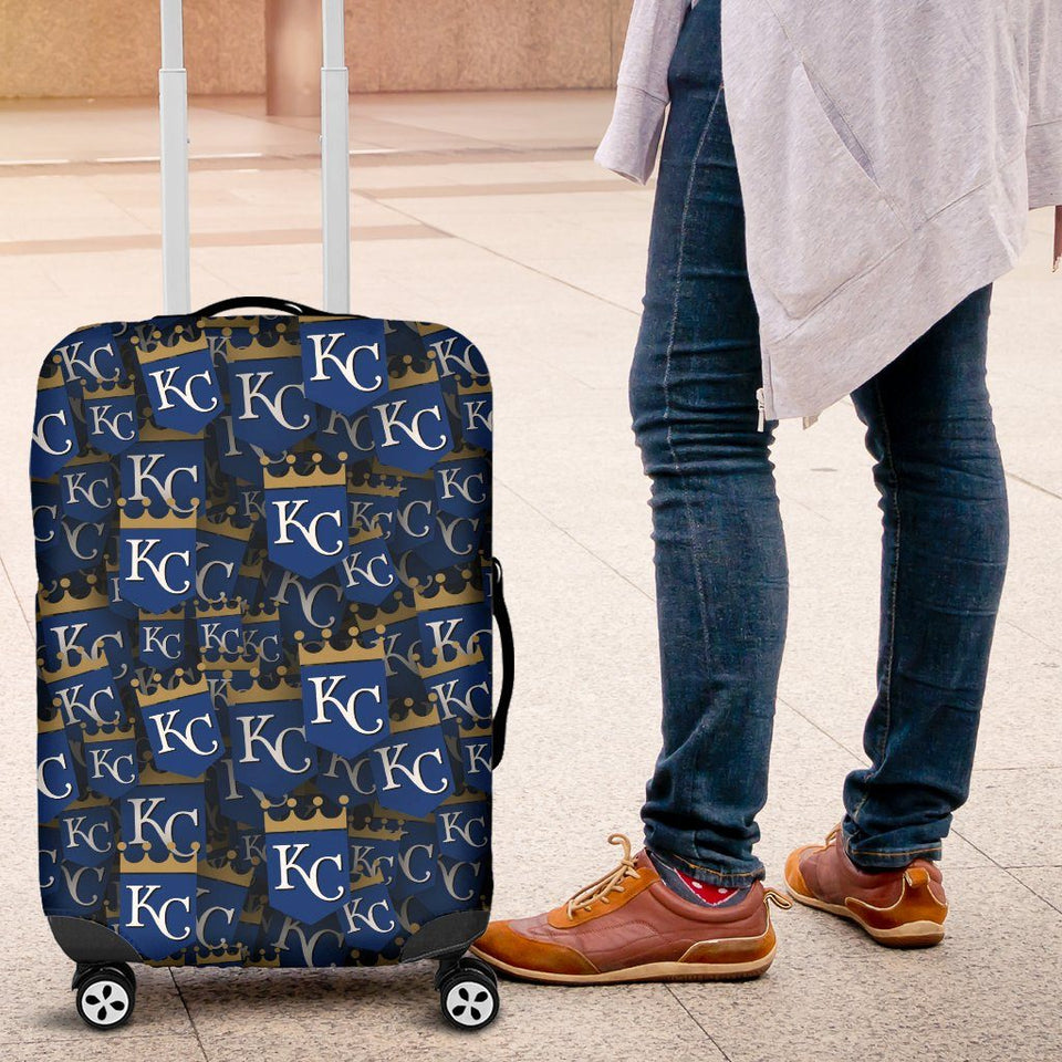KC ROYALS LUGGAGE COVER