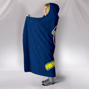 ST LOUIS CARDINALS HOODED BLANKET