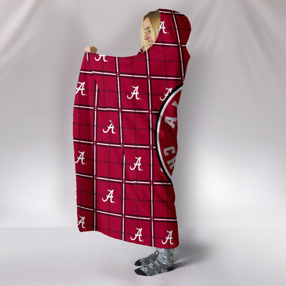 ALABAMA CRIMSON TIDE HOODED BLANKET