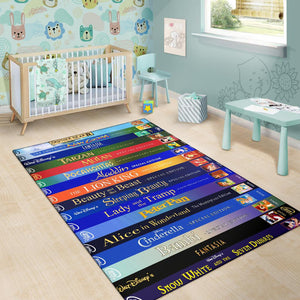 DISNEY MOVIES AREA RUG