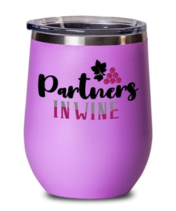 PARTNERS IN WINE TUMBLER