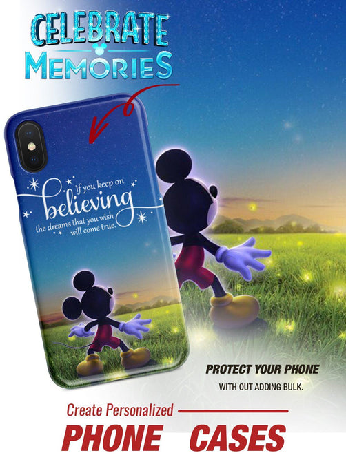 KEEP ON BELIEVING SLIM PHONE CASE