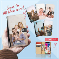 PERSONALIZED Memories Wallet Phone case
