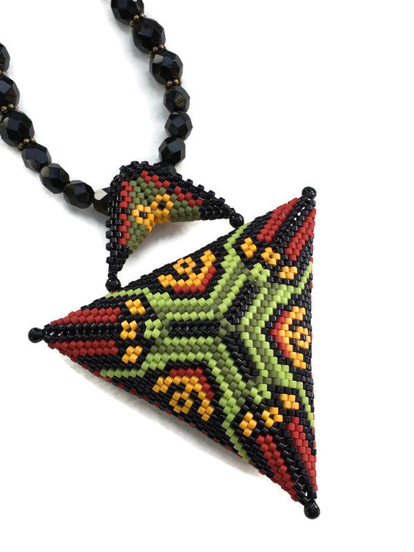 Eternal Triangle Necklace