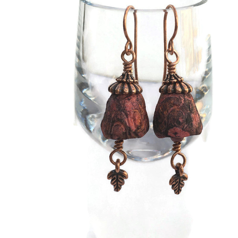 Coral Belle Earrings