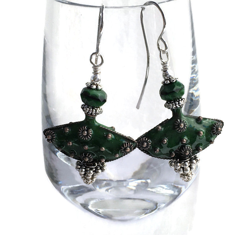 Absinthe Secret Keeper Earrings