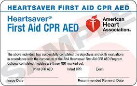 Heartsaver First Aid CPR and AED