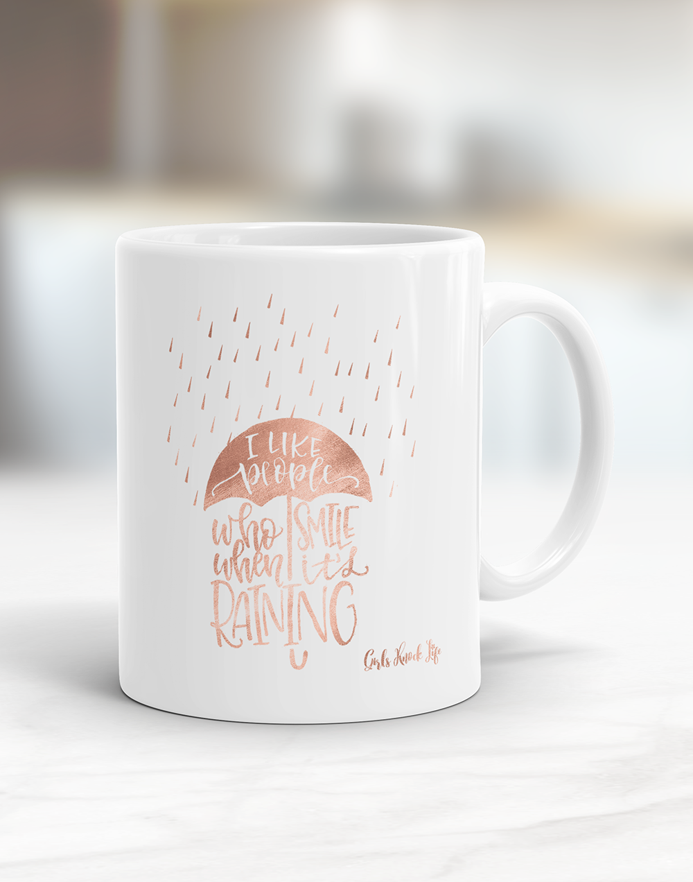When it Rains Mug