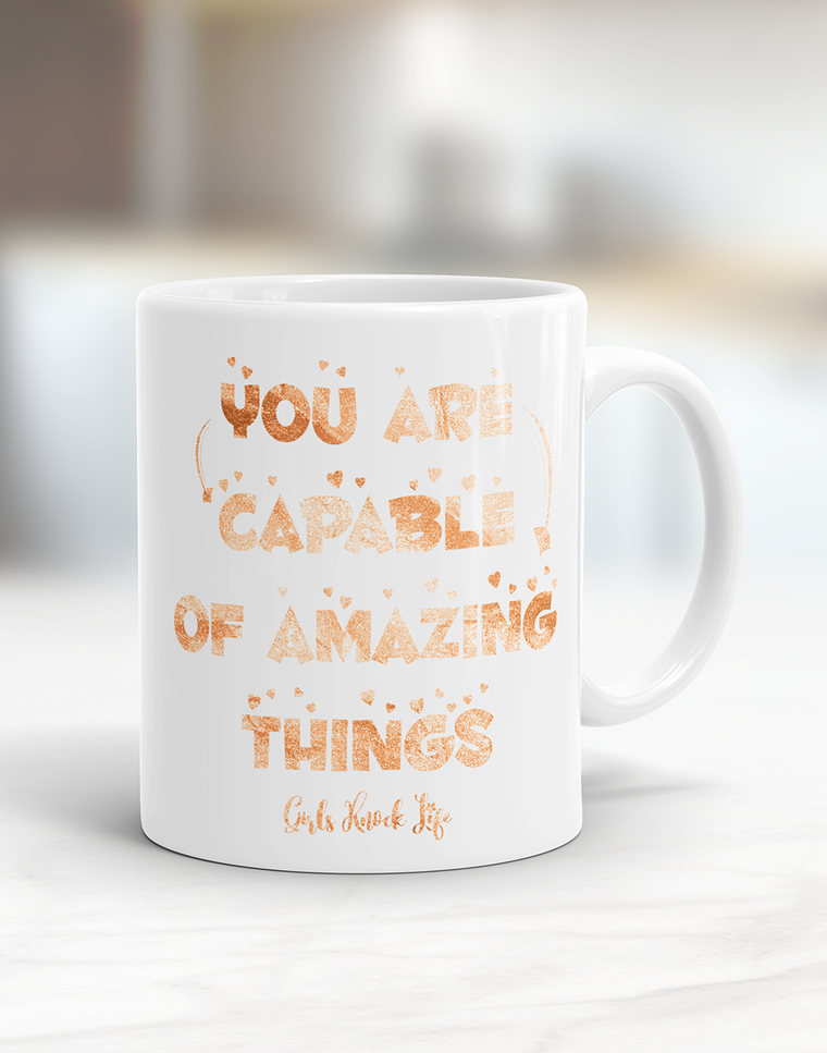 Your are Capable Mug
