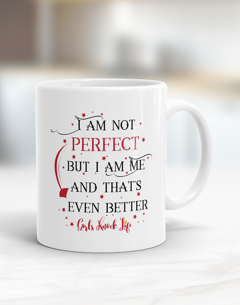 I am Not Perfect Mug