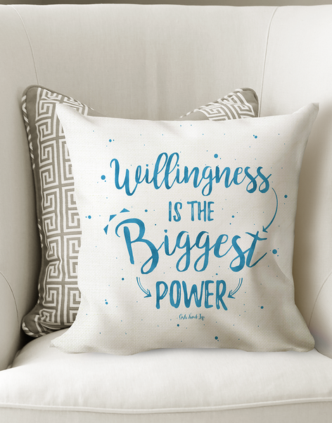 Willingness is The Biggest Power Cushion