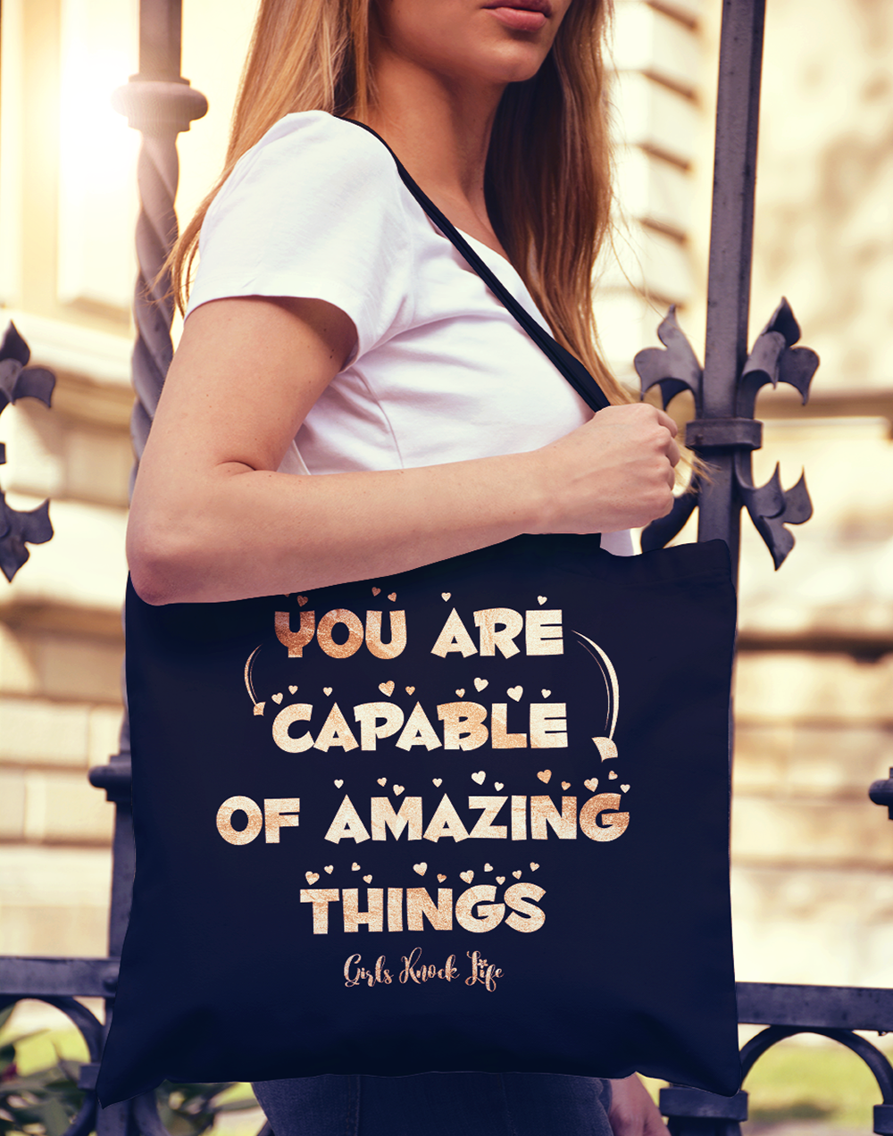 You are Capable Tote bag