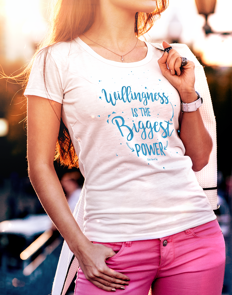 Willingness Women's t-shirt