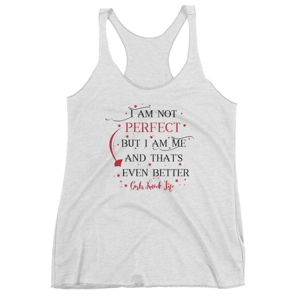 I am Not Perfect Women's Tank Top