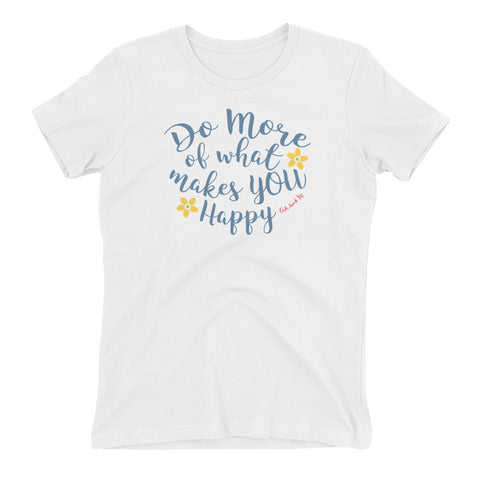 Do More Women's t-shirt