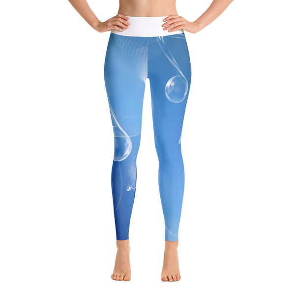 Blue Note Yoga Leggings
