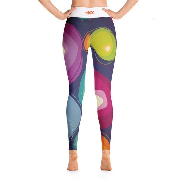 Fun Blob Yoga Leggings