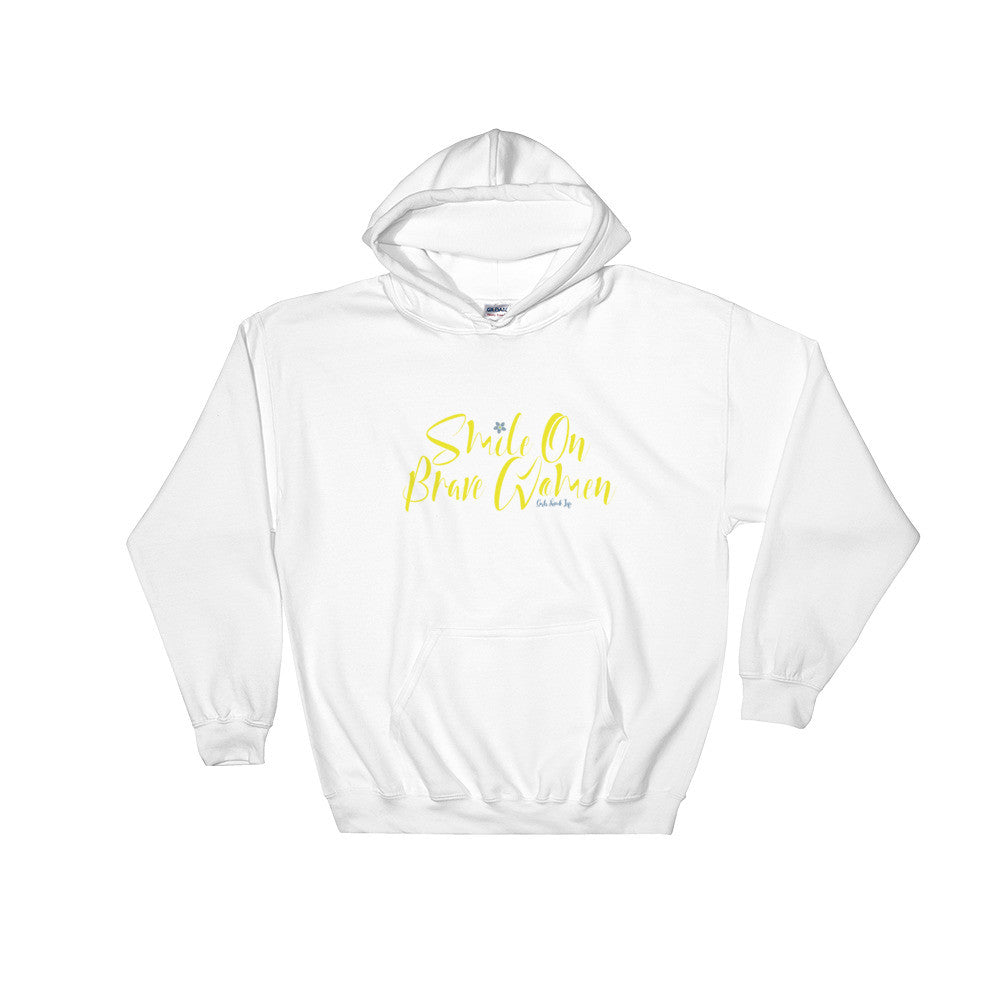 Smile on Brave Women Hoodie