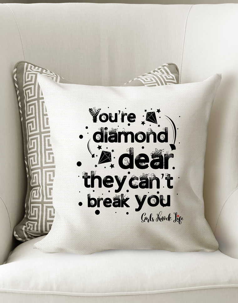 You are a Diamond Cushion