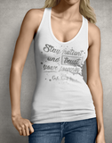 Stay Patient Women's Tank Top
