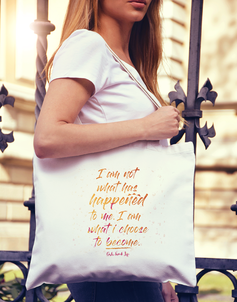 I am Not What Happened Tote bag