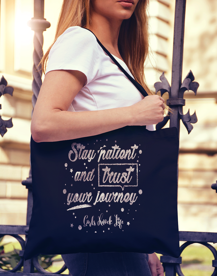 Stay Patient Tote bag