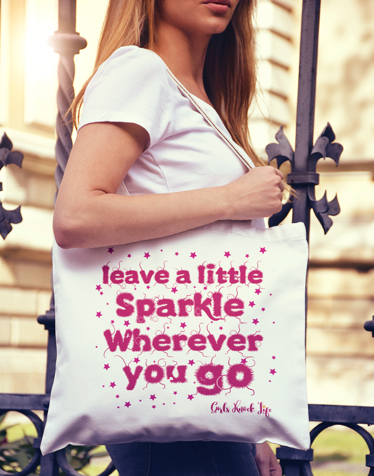 Leave a Sparkle Tote bag