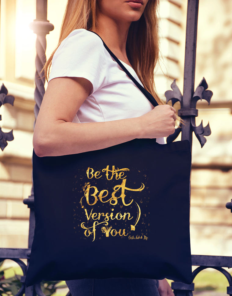 Be Your best Version Tote bag