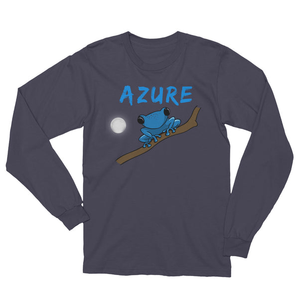azure Long Sleeve T-Shirt valana