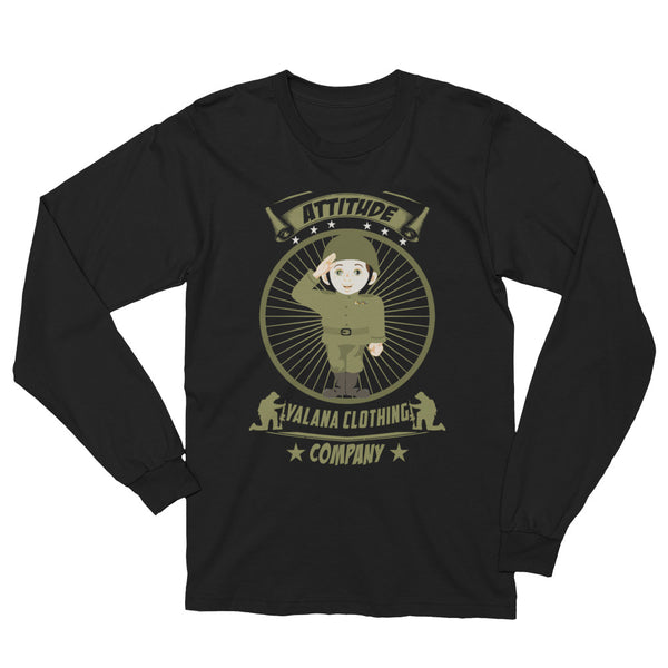 attitude Long Sleeve T-Shirt valana