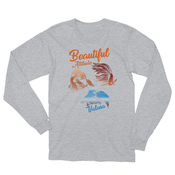 beautiful attitude Long Sleeve T-Shirt valana