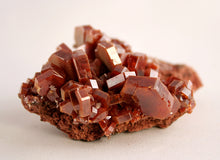 Crystal - Vanadinite cluster from Morocco