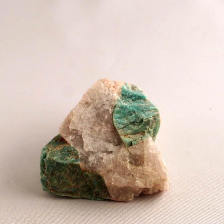Amazonite  - microcline, front view