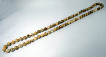 40004_Infinity necklace with picture jasper -overall look