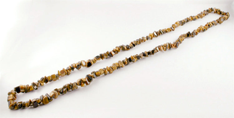 40007_Infinity Tiger Eye necklace - full length
