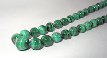 Necklace - Malachite Graduated Bead
