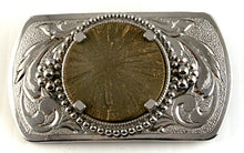 40516-40517_Belt buckle with pyrite sun