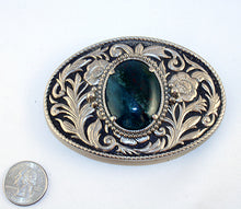 40528-Belt buckle with bloodstone cab-index with quarter