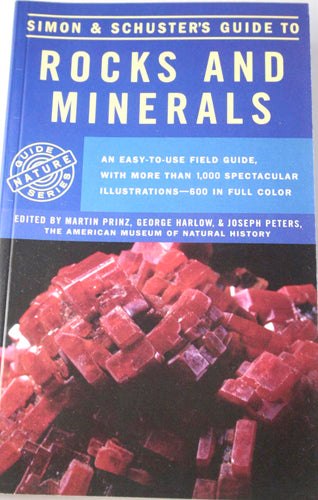 Book_guide to rocks and minerals - simon and schuster