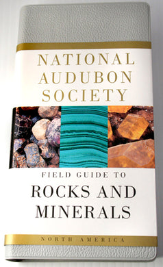 Book-guide to rocks and minerals-Audubon Society
