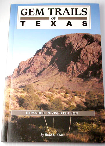 book-Gem Trails of Texas - Gem Guides