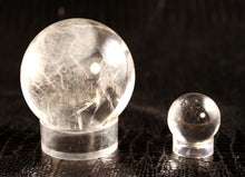60125-Crystal Balls in clear crystal - three sizes